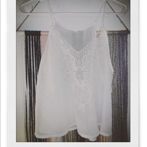✰lace tank top ✰